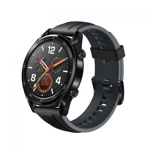 华为(HUAWEI) WATCH GT 运动版智能手表(黑色)【一个ID限购一台】