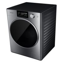 松下(Panasonic)10公斤 带烘干滚筒洗衣机 XQG100-P1DM(拉丝银)