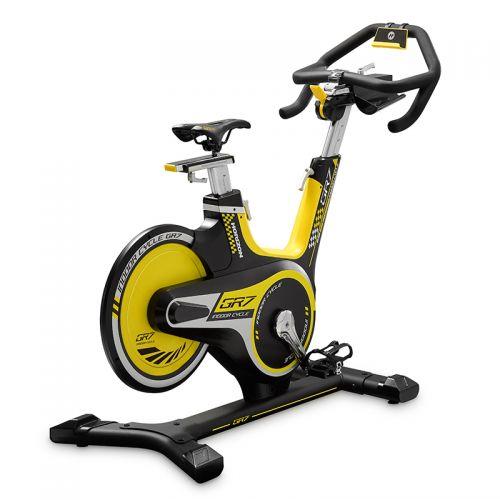 乔山(JOHNSON)动感单车家用健身车GR7(黑黄色)