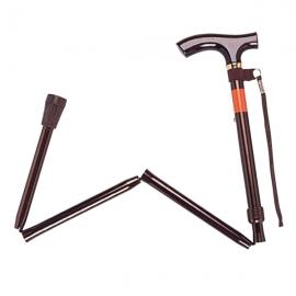 TacaoF(特高步)伸缩拐杖E-234(棕色)