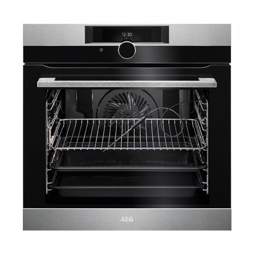 产地德国 进口AEG 71L大容量 家用智能多功能嵌入式烤箱 BPK842220M